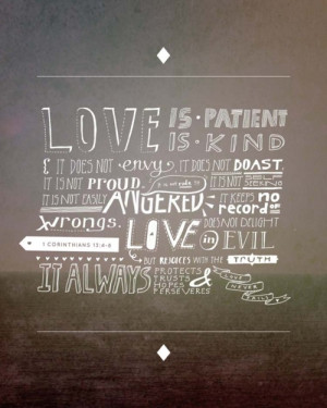 ... prints of particular Bible verses . Two of my favorites are below