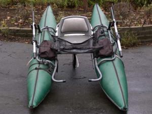Fish Cat Pontoon Boat Ready