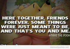 friendship disney quote winnie the pooh more walt disney disney quotes ...