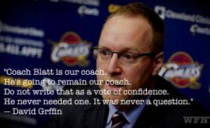 David Griffin Cleveland Cavaliers