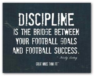 Inspirational football quotes, sport, sayings, discipline