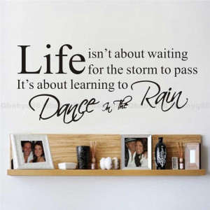 Details about Life Wall Quotes decals Removable stickers decor Vinyl ...