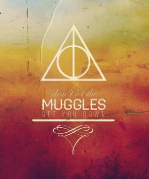 Don't let the muggles get you down....