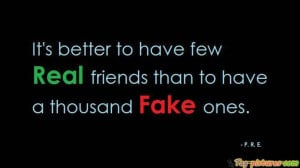 Fake Friends Facebook