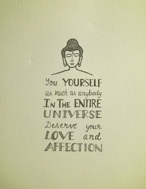 Buddha quotes -Hand lettering printable -inspirational quote posters ...
