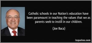 Catholic Education Quotes