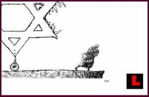 the Pat Oliphant cartoon that Jews are calling anti Semitic The Pat