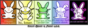 Mean Happy Bunny Quotes Created by: crazy_clockwork