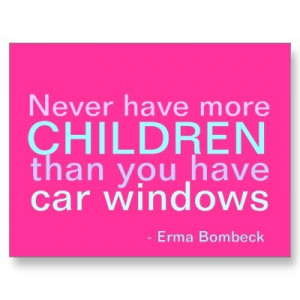 Children and Cars - inspirational quote