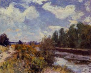 Alfred Sisley Summer At Bougival 1876