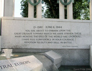 the famous june 6 1944 d day quote from the supreme allied commander u ...