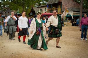 Pierce Baker Kilted Wedding Highland Dress Picture