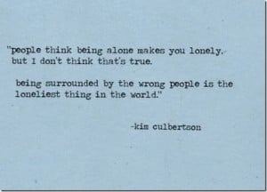 Being Surrounded By The Wrong People… |Loneliest Thing In The World