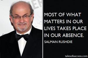 British author Salman Rushdie in 2014