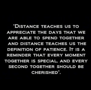 cherish every moment we spend together :)