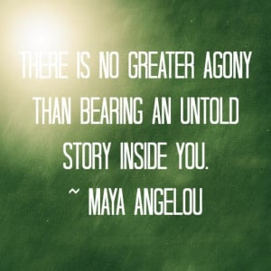 maya angelou quotes on giving