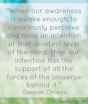 Quote from Deepak Chopra. #quote