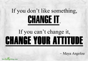 Change Your Attitude, Change Your Future