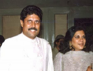 ... wife of kapil dev romi bhatia duaghter amiya dev romi bhatia pictures