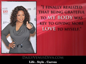 Body Positive Quote Of The Day: Oprah Winfrey