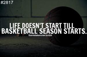 Basketball Has Been Life...
