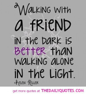 helen keller quote pic friend friendship quotes sayings pictures ...