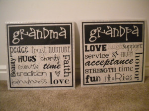 Gift idea for Grandparents