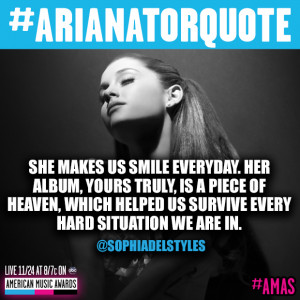 Ariana Grande Fan Army Quote