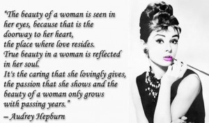 ... , Colorado Springs Plastic Surgeon, Shares An Aubrey Hepburn Quote