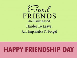 Happy Friendship Day wallpapers with quotes