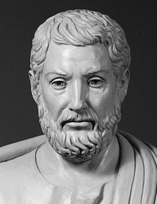 Modern bust of Cleisthenes, known as