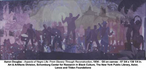 Aaron Douglas - Aspects of Negro Life: From Slavery Through ...