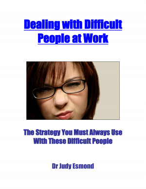 how to deal with difficult people at work quotes