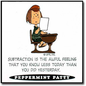 Peanuts Quotes - Peppermint Patty - peanuts Photo