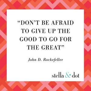 Sunday Inspiration from Stella & Dot!