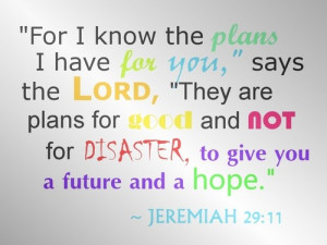 Bible, quotes, wise, sayings, hope, plans