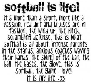 All Graphics » softball quotes