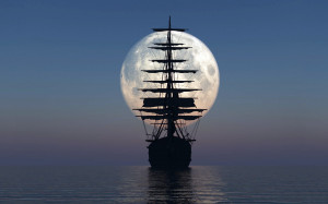 Sailboat moon Wallpapers Pictures Photos Images