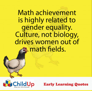 ChildUp Early Learning Quote #036 (Gender Equality)