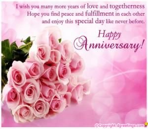 Anniversary message to husband