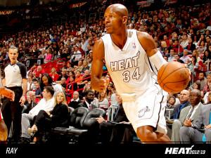 Ray Allen Miami Heat Nba
