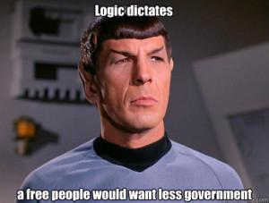 Illogical Spock