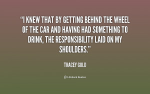 More Tracey Gold Quotes