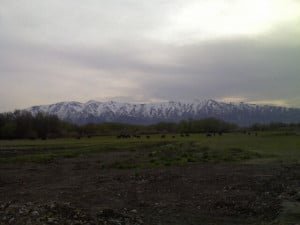 ... Majestic Mountain Range of Wellsville Mountain Range of Cache Valley