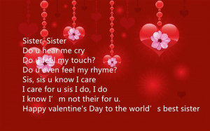 Valentines Day For Sisters