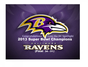 Superbowl Mania Ravens Law...