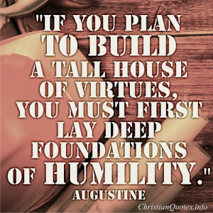Augustine Quote – House Of Virtues