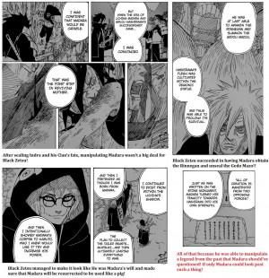 Black Zetsu Uchiha Madara
