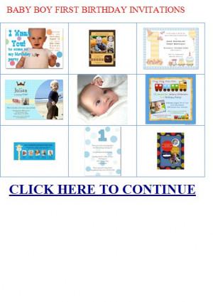 Baby boy first birth|BABY-BOY-FIRST-BIRTHDAY-INVITATIONS