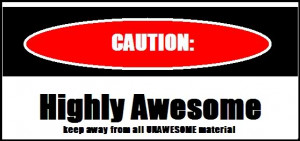 caution higly awesome Image